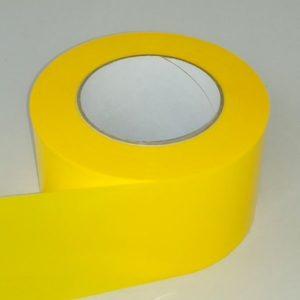 Absperrband einfarbig gelb gelbes