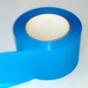 Absperrband einfarbig hellblau blau