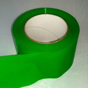 Absperrband einfarbig hellgrün grün