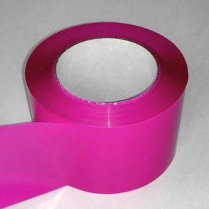 Absperrband einfarbig pink