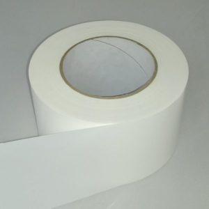 Absperrband einfarbig weiß weißes