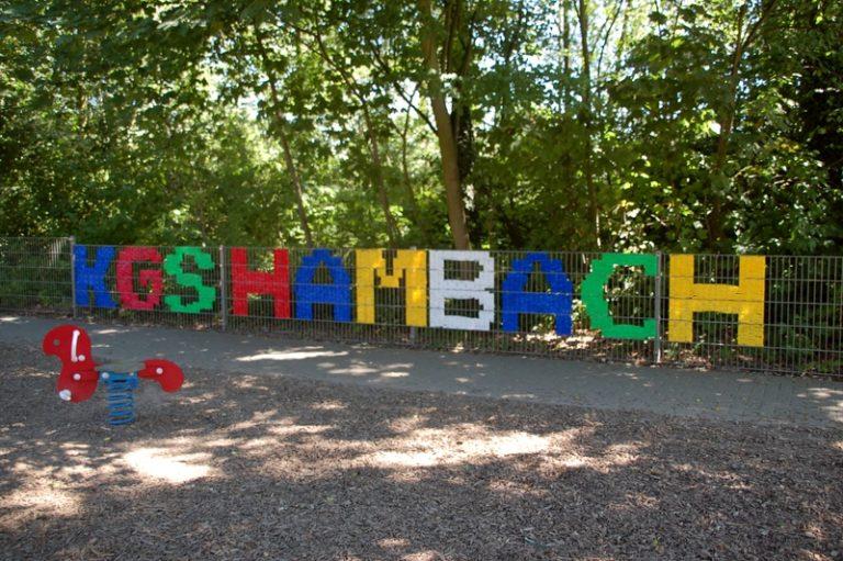 Farbiges Absperrband KGS Hambach